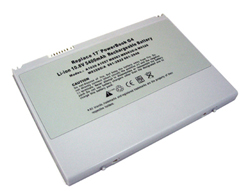 replacement apple powerbook g4 17-inch laptop battery