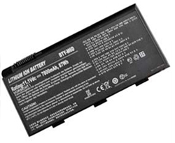 replacement msi gt663 laptop battery