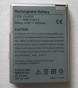 replacement samsung p10 laptop battery